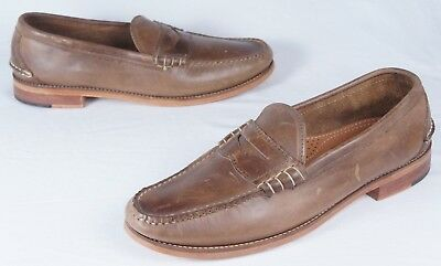 904d40161bf oak street bootmakers Natural Beefroll Penny Loafer (Mens 12D) NEW!! ...