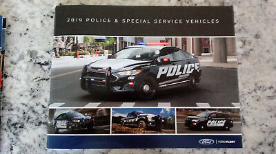 2019 Ford Police Interceptor Brochure 53 Pages, Full Color