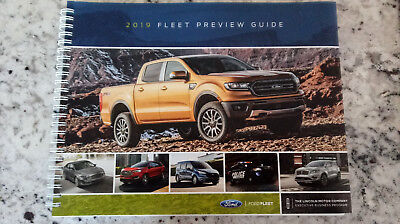 2019 Ford Fleet Preview Guide, 125 Pages Full Color