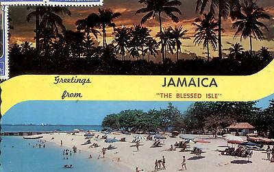 Jamaica  -  Land of sun kissed beaches and beautiful sunsets  -  1970
