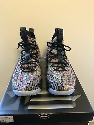 new arrival 645bd 08d0a NIKE LEBRON 15 fruity Pebbles black size 10.5 (four horsemen)
