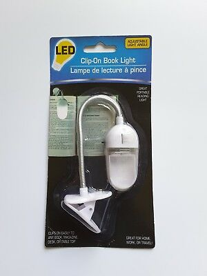 Clip-on book reading light LED