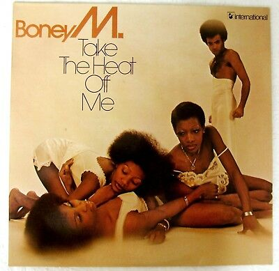 Boney M  - Take The Heat Off Me - LP Vinyl
