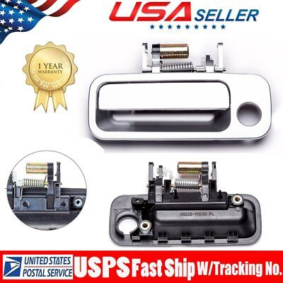 Exterior Door Handle Outer Driver Side Front Left for 97-01 Toyota Camry Silver