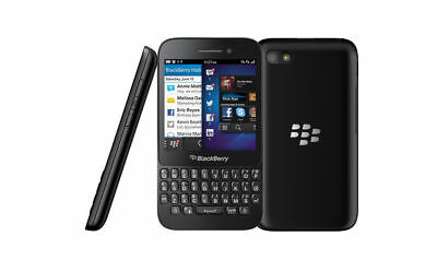 BlackBerry Q5- 8GB - Black FOR BELL MOBILE ONLY. CLEAN ESN. OEM EXTRAS