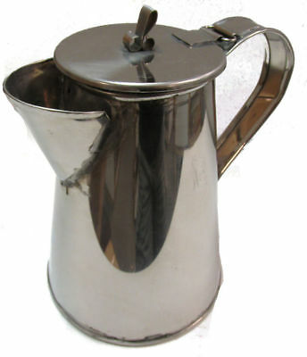 Reproduction Civil War Coffee Pot for Reenactments - STAINLESS STEEL - Small