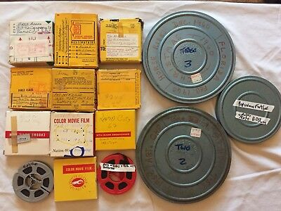 8mm Home Movie Lot USA/Canada/Europe LOOK!
