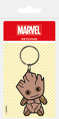 Marvel Kawaii Guardians Of The Galaxy (Groot) Rubber Keychain