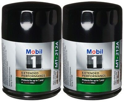 Mobil 1 Oil Filter >> Mobil 1 M1 212a Extended Performance Oil Filter Pack Of 2