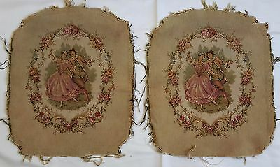 Two Tapestries - Lady & Gentleman
