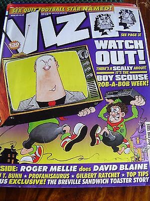 Viz #130 November Roger Mellie Does David Blaine Profanisaurus Gilbert Ratchet