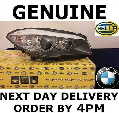 BMW 5 Series F10 F11 Headlight Headlamp Halogen Driver Off Side GENUINE NEW