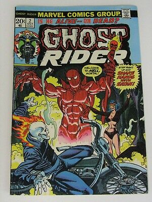 Ghost Rider Comic 2 (First Full Damien Hellstrom Appearance) Nm