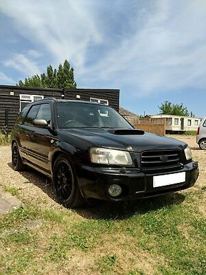 2003 subaru forester 2.0 xt with UPGRADES