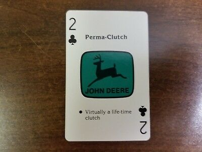 Collectors John Deere Playing Cards Ref Jd 8440 From 1979-1982 Cards Excellent