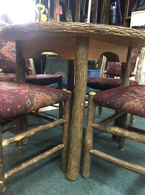 Old Hickory Table & Chairs Vintage Original Rustic Antique