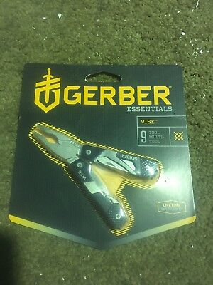 BRAND NEW Gerber Vise Mini Tool (Black)(GER-31-000021)