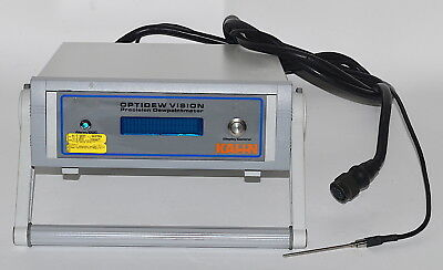 Kahn Optidew Vision Precision Dew-Point Meter *Used, Power On Tested* 75-6520