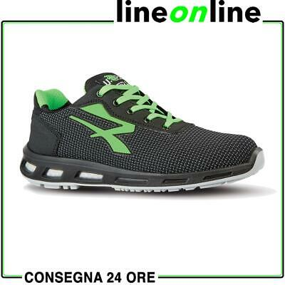 Scarpe antinfortunistiche U-Power Strong S3 SRC Red Lion UPower da lavoro legger