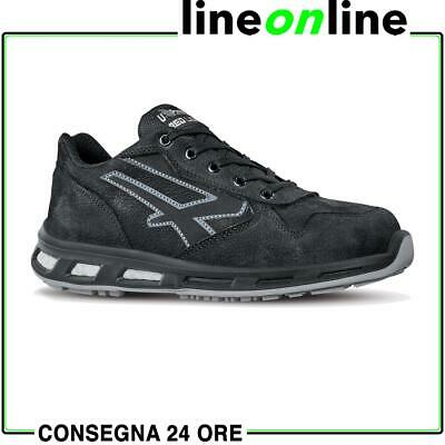 Scarpe antinfortunistiche U Power Carbon S3 SRC da lavoro UPower Red Lion pelle