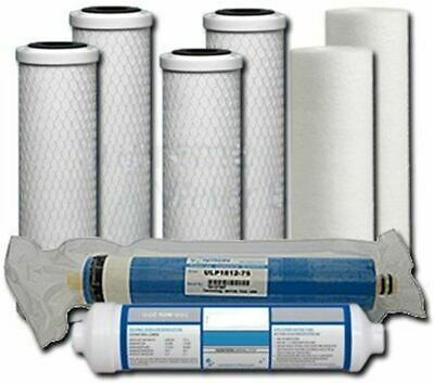 Universal 5-Stage Under Sink Reverse Osmosis Annual Replacement Filter Kit by Co