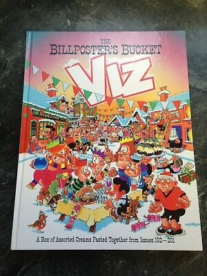 Viz Annual The Billposters Bucket Adult Comic Excellent Free Uk Postage