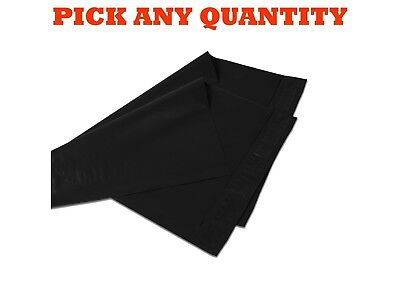 """6x9 BLACK POLY MAILERS Shipping Envelopes Self Sealing Mailing Bags 6"""" x 9"""""""