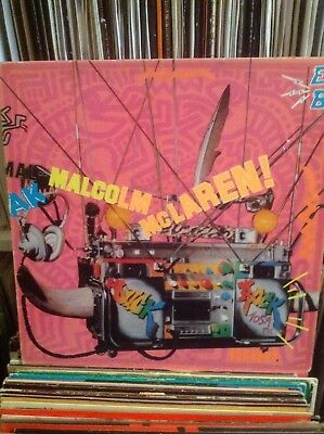 "Malcolm McLaren ‎– Duck Rock 12"" Vinyl LP Buffalo Gals World Famous Supreme Team"