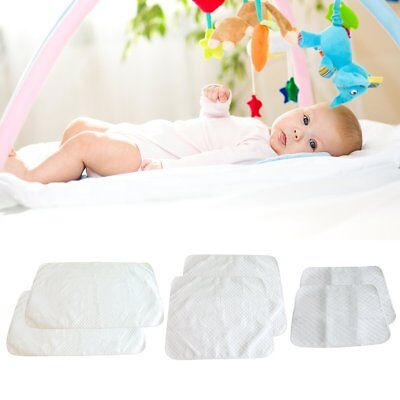 2 Waterproof Changing Diaper Pad Cotton Washable Baby Infant Urine Mat Nappy Bed
