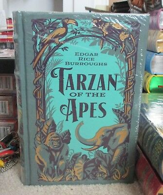 Barnes & Noble Tarzan of the Apes Leather Bound Classics Sealed