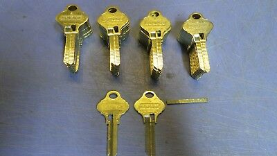 42 – Schlage Everest 29, Key Blanks S124 Originals, W/Cutting Shim. NEW