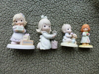 Precious Moments Figurines  - LOT OF 4 - Nice! (See List Below)