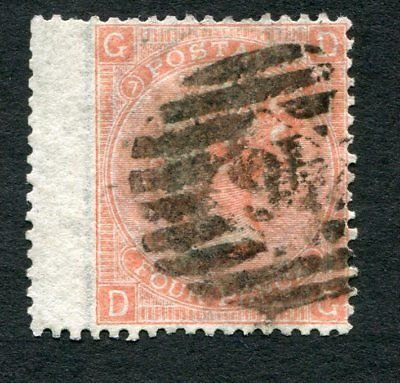 Stamp Lot Of Great Britain, Scott #43 Plate 7 ($67.50)