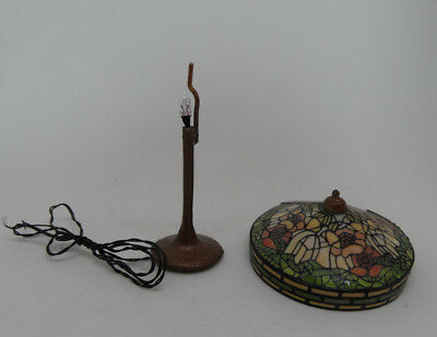 Vintage DOLLHOUSE MINIATURE 1:12 Scale IGMA Barbara Kummerow Tiffany Style Lamp