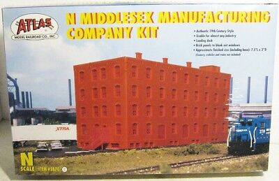 N Scale Middlesex Manufacturing Co.Building Kit Shrink Wrapped ......Scroll Down