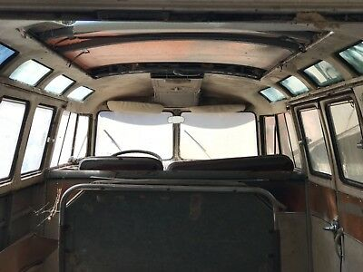 1967 Volkswagen Bus/Vanagon Deluxe 1967 Volkswagen Samba 21 Window Deluxe Barn Find patina MUST SEE