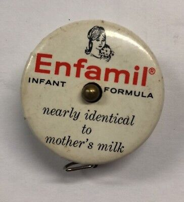 Vintage ENFAMIL Cloth Tape Measure from Mead Johnson Labs