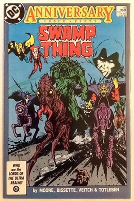 Swamp Thing #50 9.0 VF/NM 1986 DC 1st Justice League Dark Moore