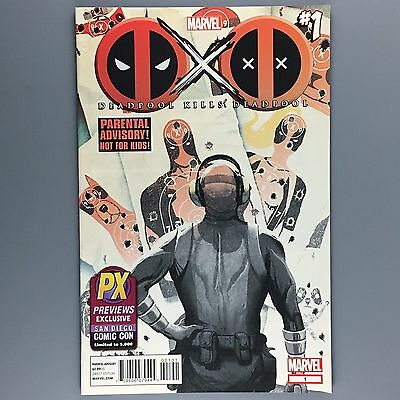 Deadpool Kills Deadpool #1 SDCC EXCLUSIVE Limited to 5000 NM San Diego Comic Con