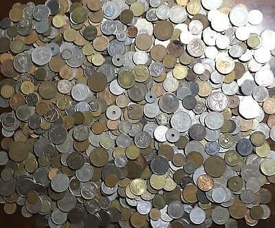 HUGE **9.5 Lbs.** Of Foreign / World Coins Lot- Nice Mix! .99 Start