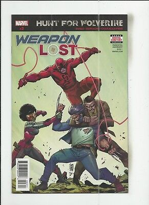 Hunt for Wolverine: Weapon Lost #3 near mint- (NM-) condition