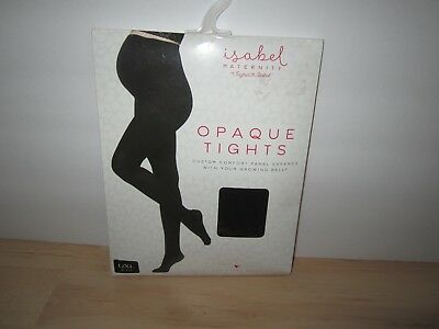 Ingrid & Isabel Maternity Opaque Black Tights