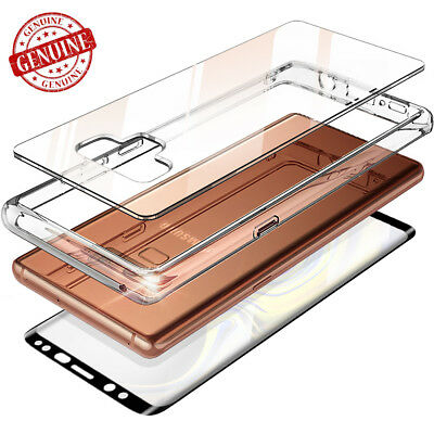 For Samsung Galaxy Note 9 S9 Case Clear Full Body Covered Hybrid Shockproof Case