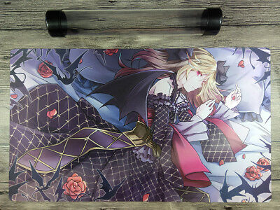 YuGiOh Vampire Custom Playmat Trading Card Game CCG OCG Duel Mat Free Best Tube
