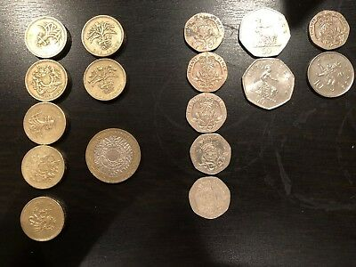 Great Britain Coin & Bills  Lot - 21.30 British Pounds