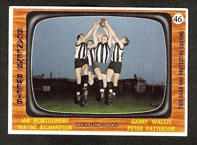 1967  SCANLENS   COLLINGWOOD   4 Players   No  46