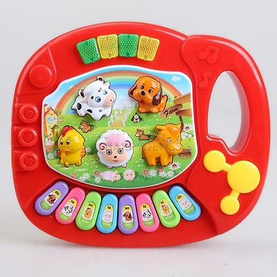 New Brand Baby Kid Music Educational Animal Farm Piano LIGHT Music Toy Gift USA