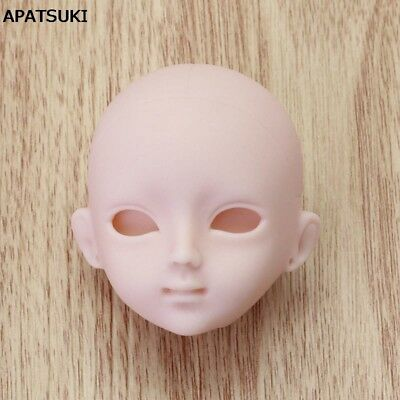 Soft Plastic Practice Makeup DIY Doll Head For Barbie Doll Head For 1/6 BJD Doll