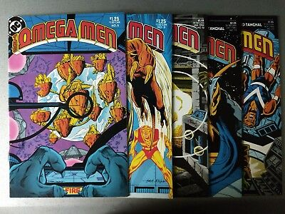 Omega Men 10 1st Full Lobo story + 4  other Early Lobo appearance lot DC Comics