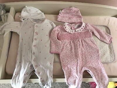 jojo maman bebe Sleepsuits And Hats